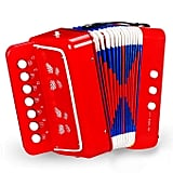 On Accordion Super Jolly Kids Accordion With Extra Strong Strap