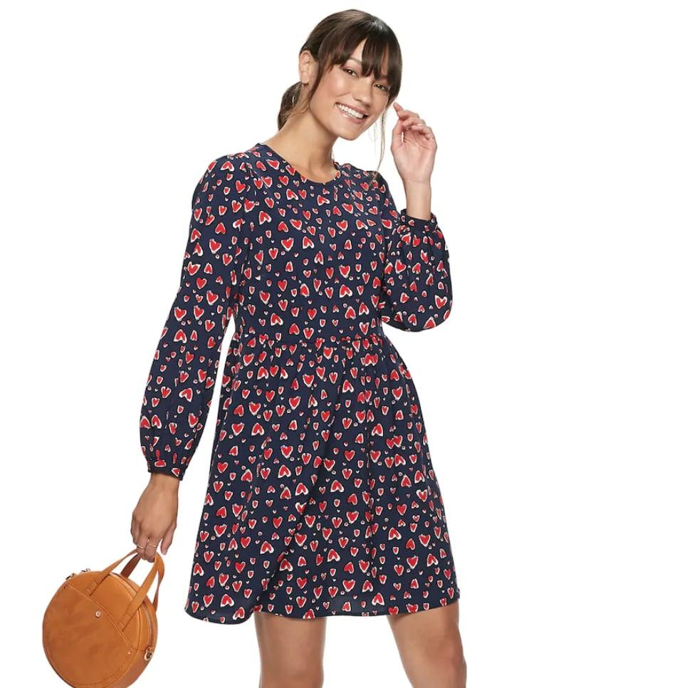 POPSUGAR at Kohl's Long Sleeve Mini Dress