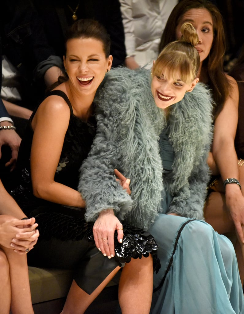 The Stars Put On Their Burberry Best For Last Night's Catwalk Show