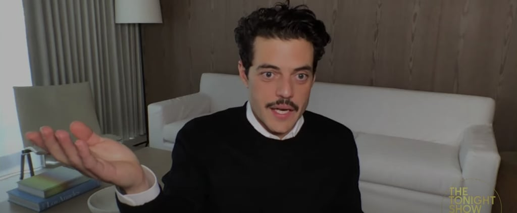 Watch Rami Malek Discuss Night at the Museum on Fallon