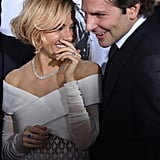 With Bradley Cooper
