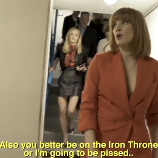 Jessica Chastain Game of Thrones Finale Predictions Video