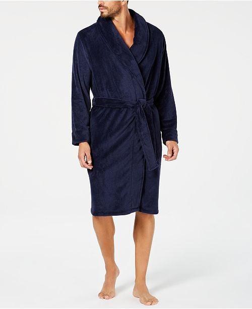 Club Room Men's Plush Robe