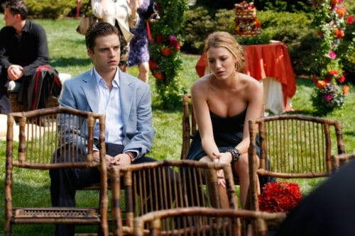 Found It! Gossip Girl Bamboo Folding Chairs