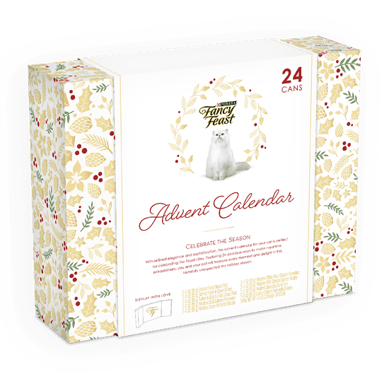 Fancy Feast Feastivites Advent Calendar For Cats 2020