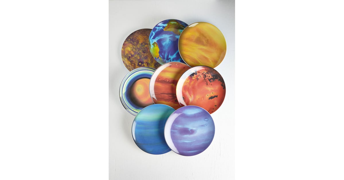 Planets Plate Set | Space Gifts For Adults | POPSUGAR Tech ...