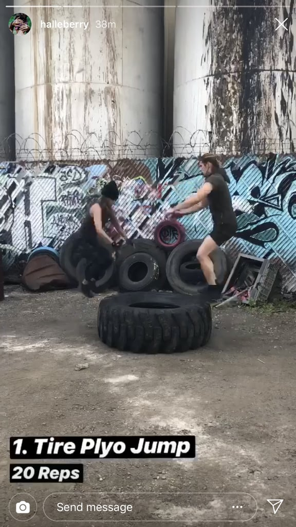 Tire Plyo Jump