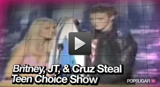 Video of Britney and JT's Teen Choice Moment, Eminem and Rihanna's Personal Video, and Angelina in New Film