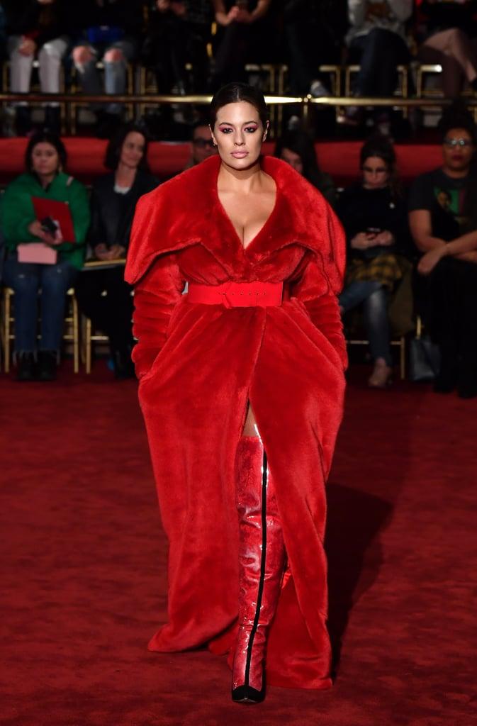 Ashley Graham at Fashion Week Fall 2018