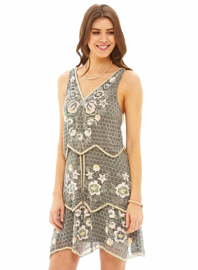Flapper style dress h&m 589 5th avenue