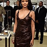 Rihanna was on hand for the opening of Fendi's flagship store on Madison Avenue.
