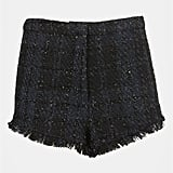 These Topshop Metallic Fringe Bouclé Shorts ($64) have that Parisian-chic quality that would look even more chic styled up with a chunky turtleneck, tights, and ankle boots.