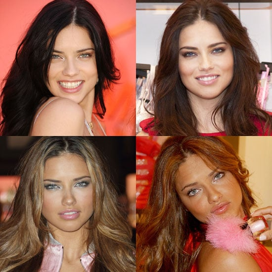 Which Hair Colour Looks Best on Adriana Lima?
