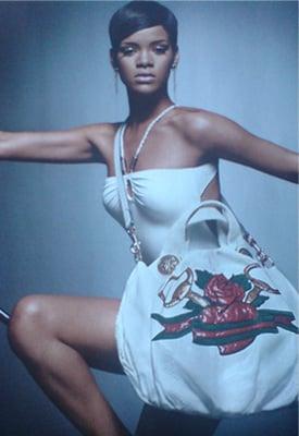 Rihanna in Gucci's Unicef Ad Campaign, Autumn 2008,