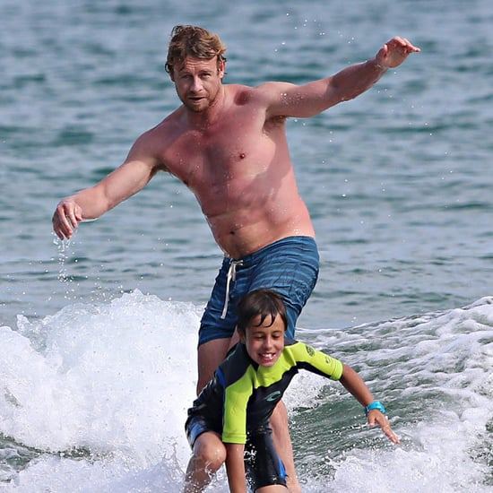 Celebrities in Australia For Christmas and Holidays 2013