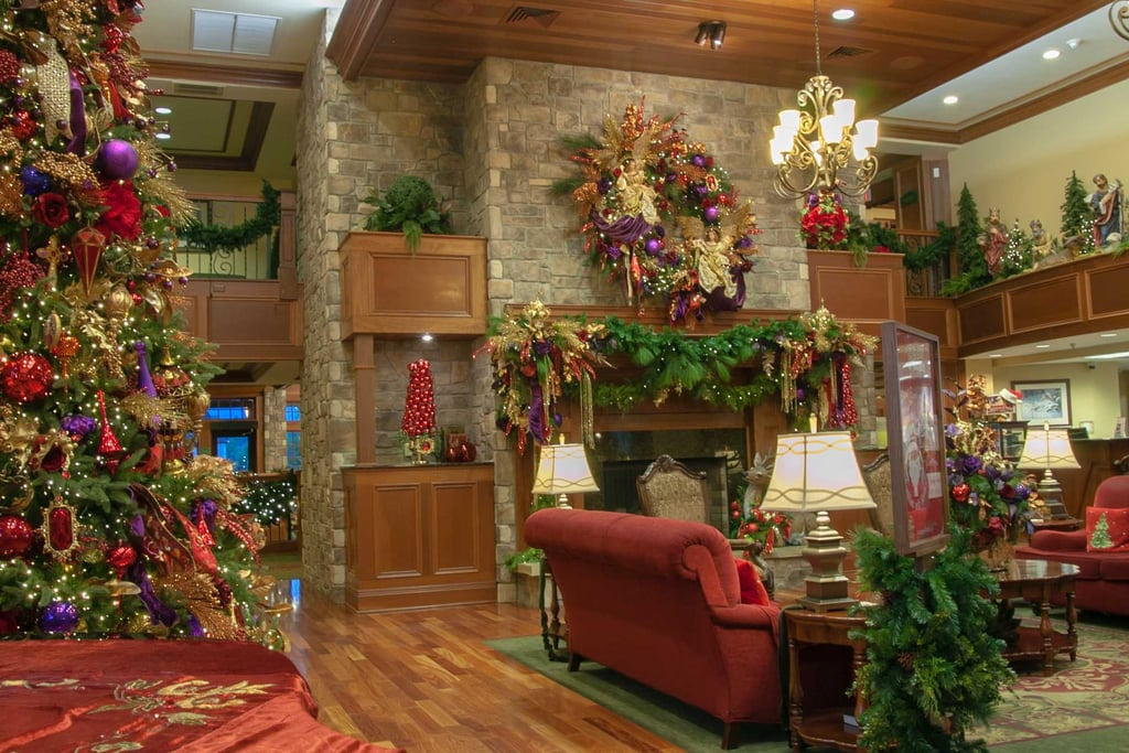 The Inn At Christmas Place.The Inn At Christmas Place In Tennessee Popsugar Smart