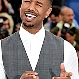 He charmed the crowd at a photocall for Fruitvale Station during the Cannes Film Festival in May 2013.