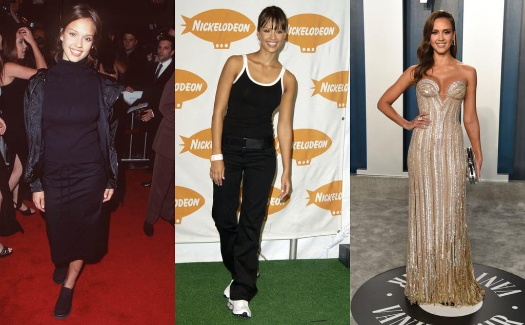 Fashion Evolution | Actress Jessica Alba