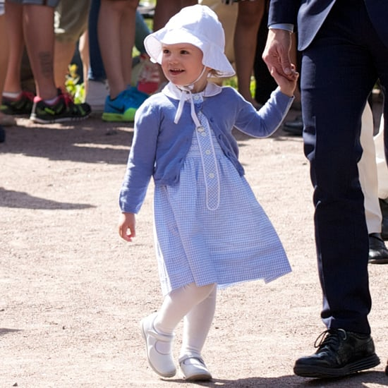 Princess Estelle of Sweden's First Official Royal Appearance