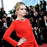 Lottie Moss Showed Up Matching Her Sister, Kate, in Dior