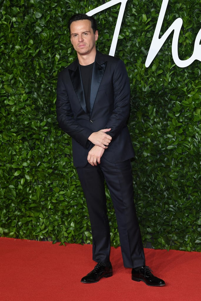 Andrew Scott at the British Fashion Awards 2019