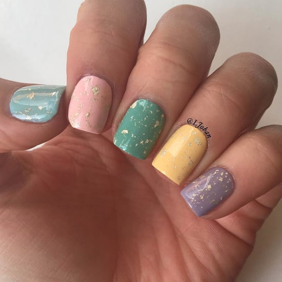 Easter Egg-Inspired Nails