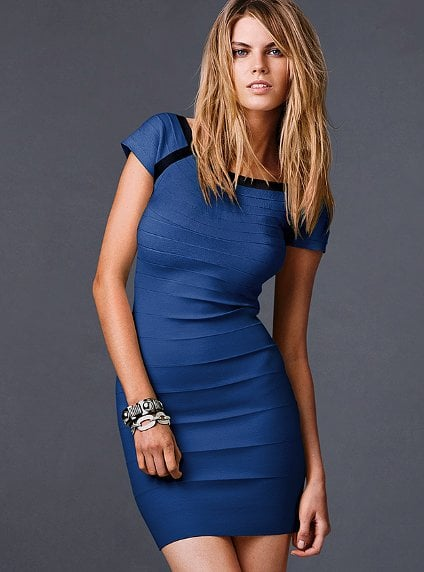 Victoria's Secret Short-Sleeve Bandage Dress ($40, originally $88)