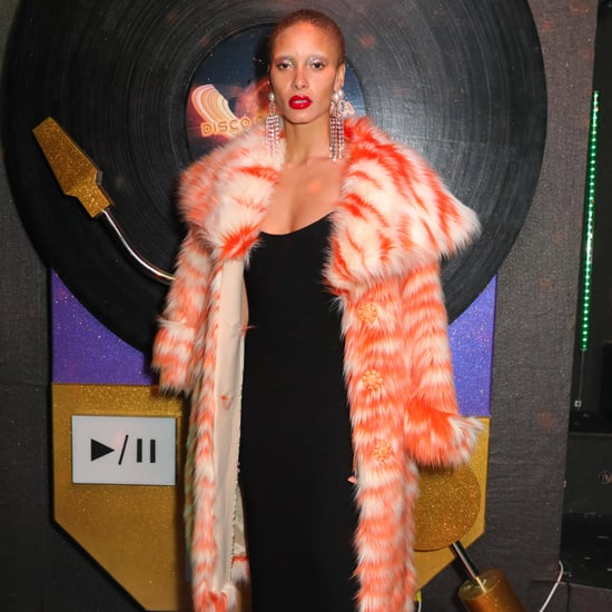 Model Adwoa Aboah at Fashion Week