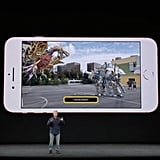 A look at how augmented reality will look on the iPhone.
