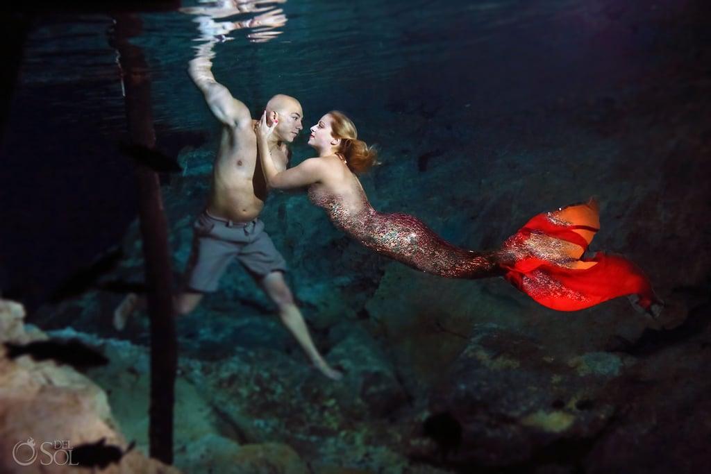 Underwater Mermaid Proposal