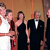 Princess Diana Spoke With Guests at a Fundraising Event For Breast Cancer Research in 1996
