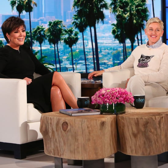 Kris Jenner on The Ellen Show February 2017