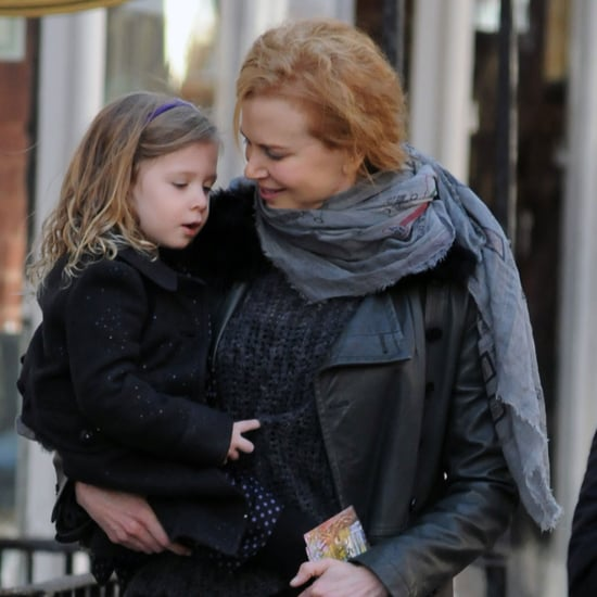 Nicole Kidman and Keith Urban With Sunday in NYC Pictures
