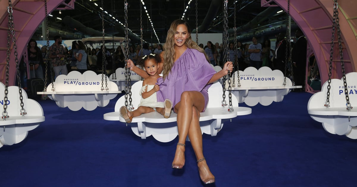 Chrissy Teigen Had the Best Response to a Troll Who Shamed Her For Doing Luna's Nails