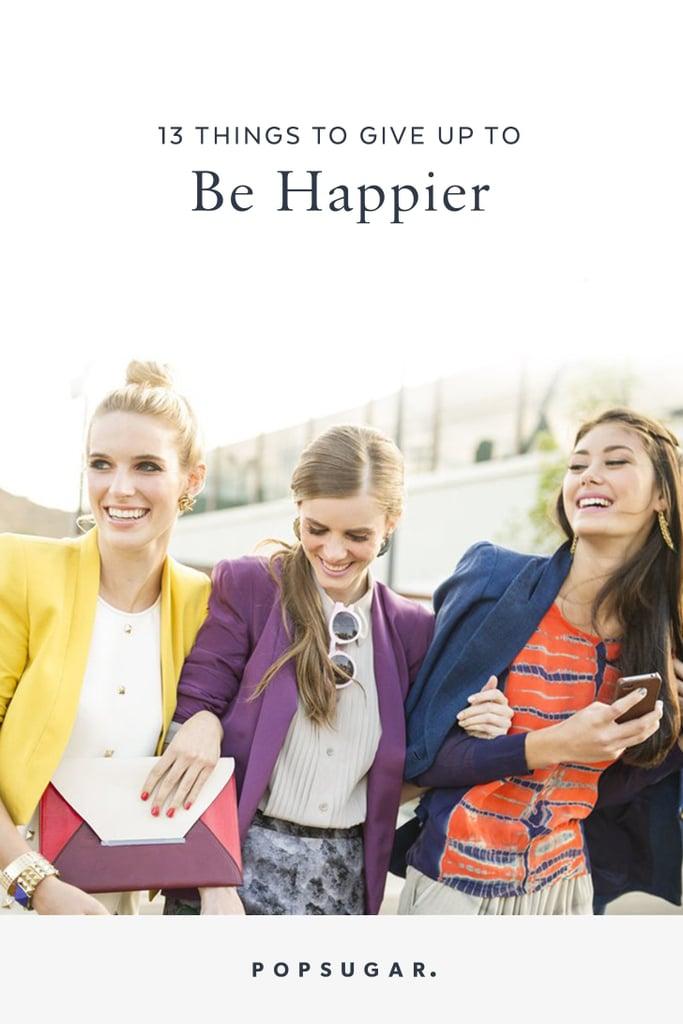 Easy Ways to Be Happy