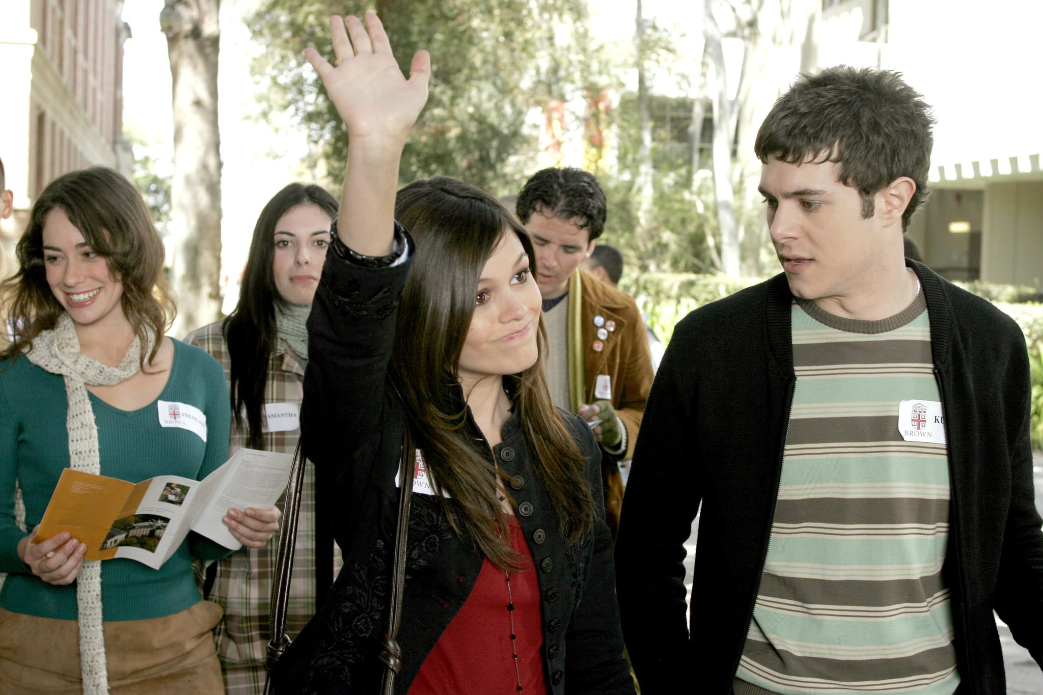 THE O.C., Rachel Bilson, Adam Brody, 'The College Try', (Season 3, aired April 20, 2006), 2003-2007. photo: C. Kaelson /  WB / Courtesy: Everett Collection