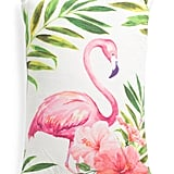 Cotton Flamingo Pillow