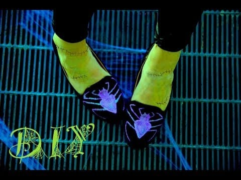 Halloween Costume Idea Spider Loafer DIY | Video