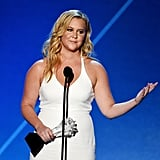 See Every Moment From Amy Schumer's Epic Night at the Critics' Choice Awards With Her New Boyfriend