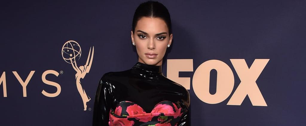 Kendall Jenner's Black Nail Polish Colour at the 2019 Emmys