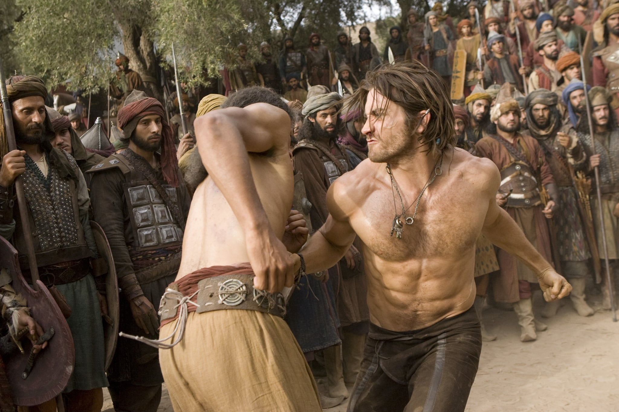 Pictures of Jake Gyllenhaal Shirtless in Prince of Persia ...
