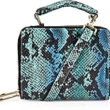 Topshop Faux Snake Box Bag ($58)
