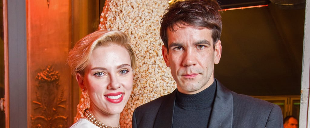 Scarlett Johansson Makes a Rare Public Outing With Her Husband, Romain Dauriac, in the City of Love