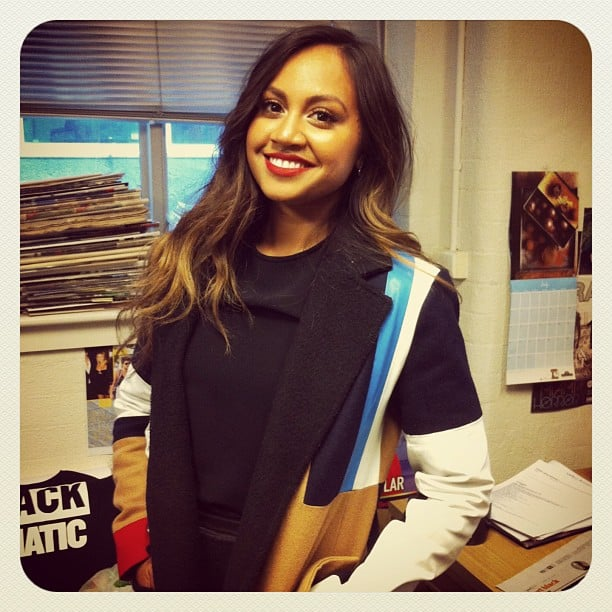 Celebrity and entertainment editor Jess interviewed the always delightful Jessica Mauboy at Sony headquarters during the week.