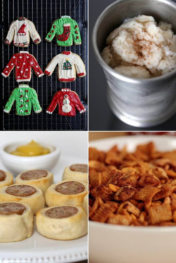 Christmas Party Nibbles Ideas Part - 32: Ugly Sweater Christmas Party Menu
