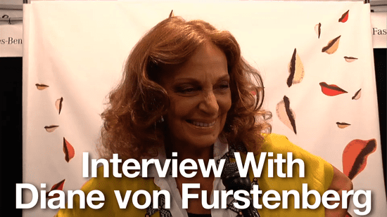 Spring 2011 New York Fashion Week Interview: Diane von Furstenberg and Yvan Mispelaere