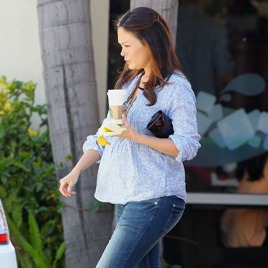 Pictures of Pregnant Lindsay Price in LA