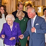 March: Kate and Will celebrated the 50th anniversary of Prince Charles's investiture with the royal family.
