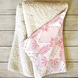 DENY Designs Dash and Ash Strawberry Picnic Sherpa Fleece Throw