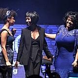 Lianne La Havas, Brandy, and Jill Scott got smiley on stage at the Essence Black Women in Music party.